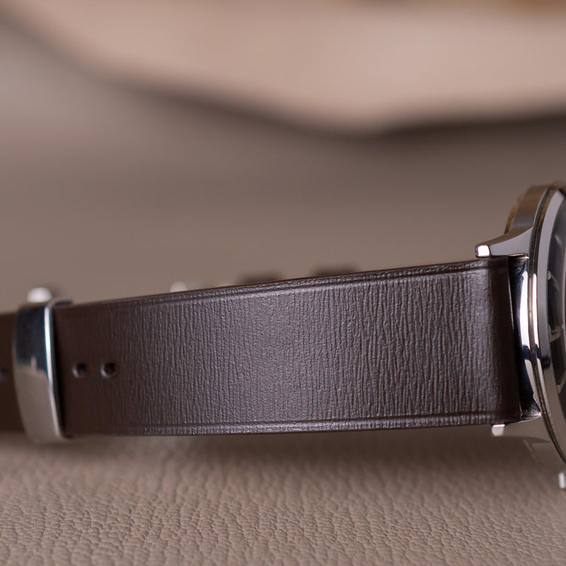 Calf & Goat Without Stitching Watch Straps