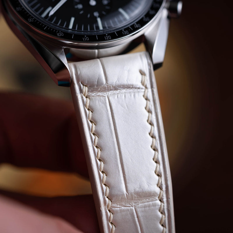 Pearl White Himalaya Watch Strap