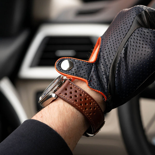 Style 1 - Chestnut Buttero racing strap