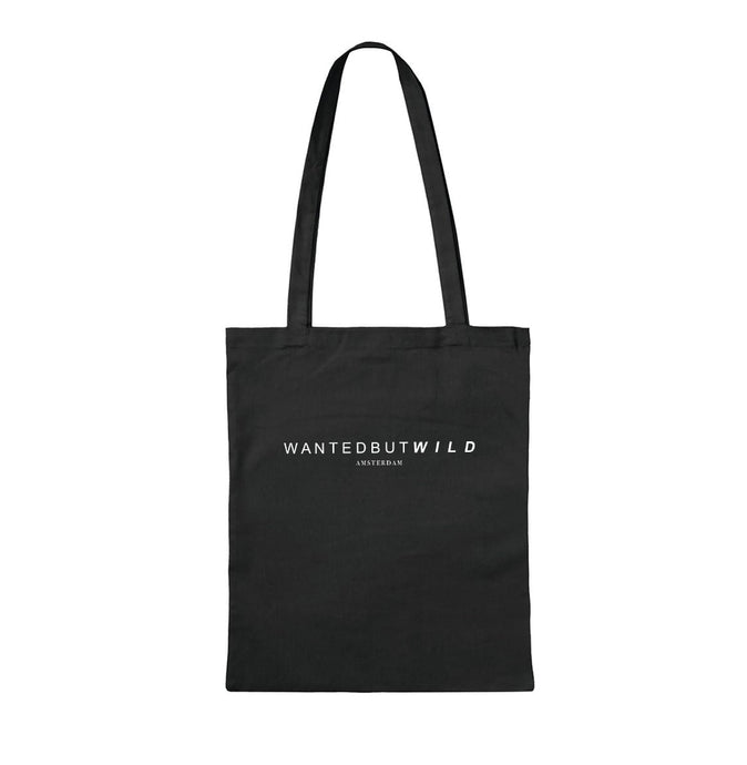 Ultimate Black Canvas Shopper | UB04