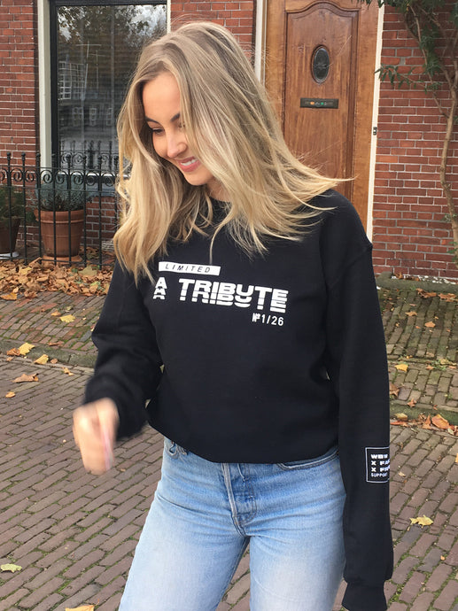 Limited Tribute Sweater - Black