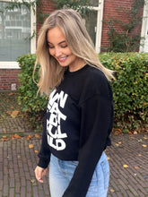 Afbeelding in Gallery-weergave laden, Space Sweater - Black