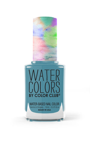 Keep Swimming (Water Colors 18-Free Formula)