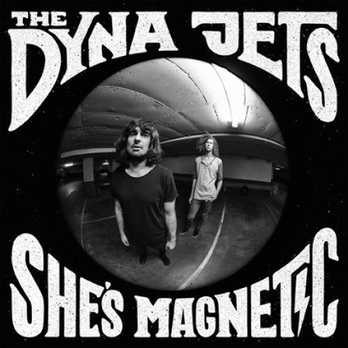 "The Dyna Jews | She's Magnetic 10"" White Vinyl (Portugal VG+)"