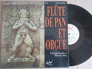 Gheorghe Zamfir | Flute De Pan Marcel Cellier Orgue ( France VG+ )