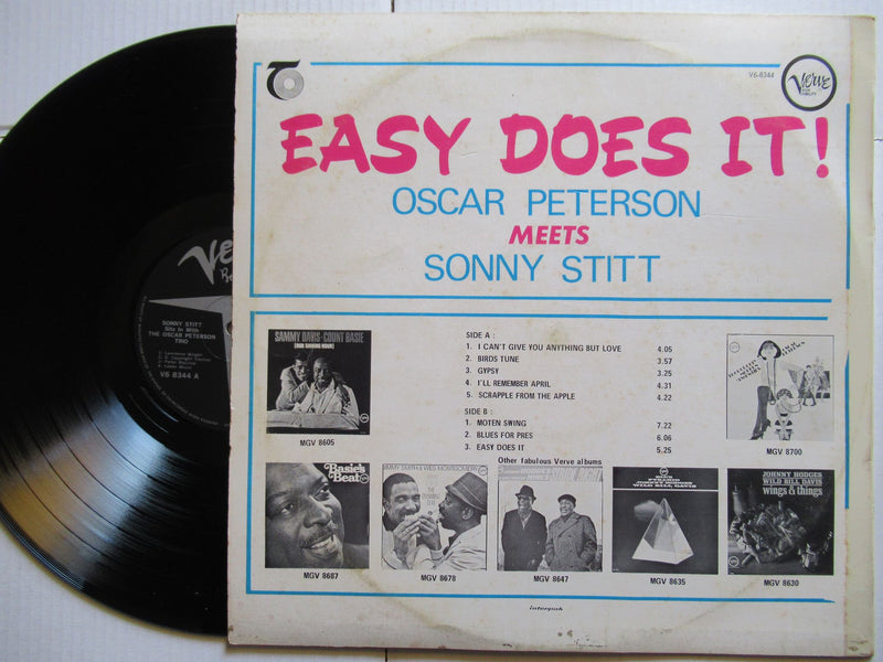 Oscar Peterson Meets Sonny Stitt | Easy Does It (RSA VG)