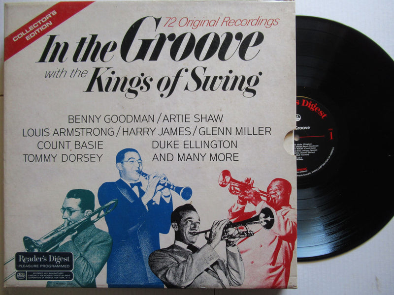 Various Artists Readers Digest | In The Groove With The Kings of Swing (USA VG)
