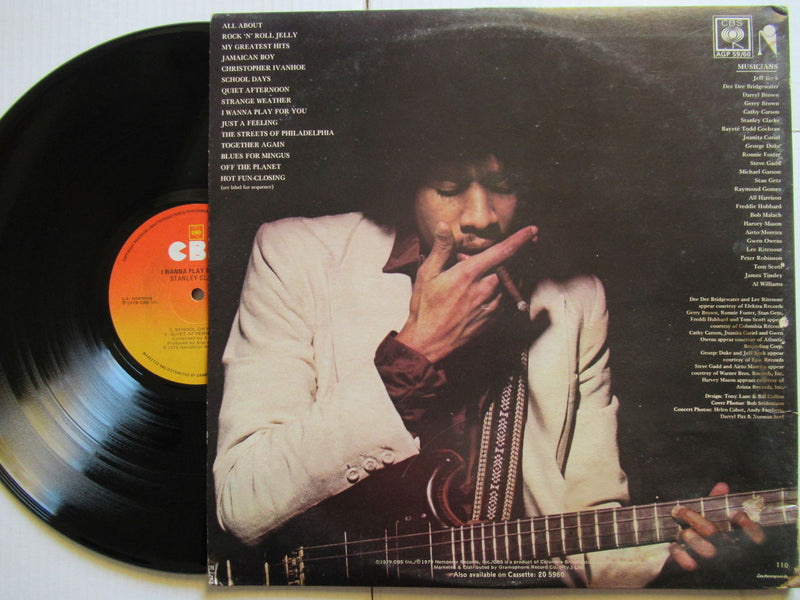 Stanley Clarke | I Wanna Play For You (RSA VG+ 2LP)