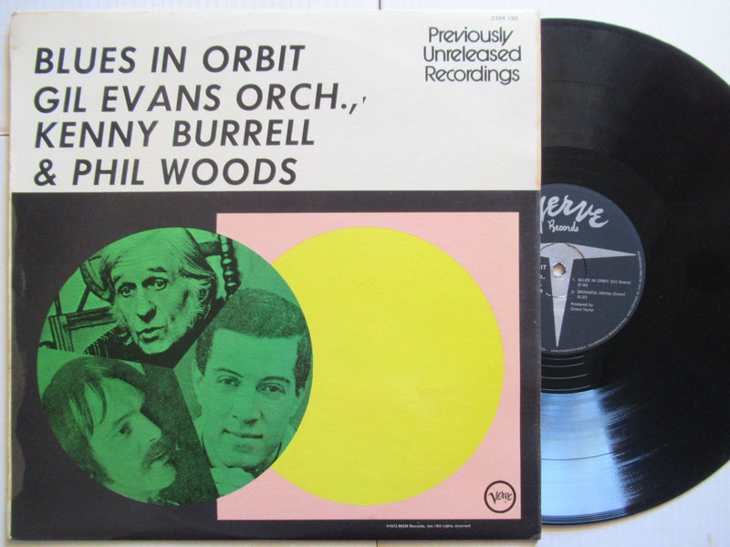 Gil Evans Orch, Kenny Burrell & Phil Woods | Blues In Orbit (RSA VG+)