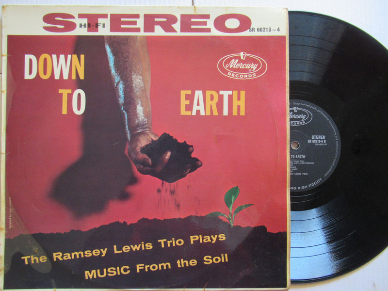 The Ramsey Lewis Trio | Plays Music From The Soil | Down To Earth (RSA VG)