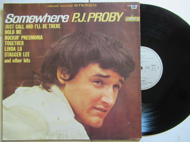 P.J. Proby | Somewhere (France VG)