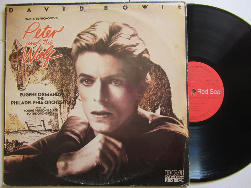 David Bowie | Narrates Peter And The Wolf (RSA VG+)