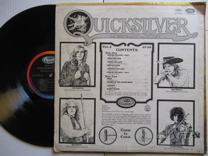 Quicksilver Messenger Service | Happy Trails (USA VG-)