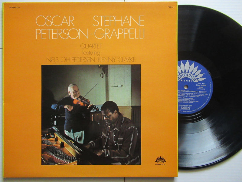 Oscar Peterson | Stephane Grappelli Quartet (USA VG+)