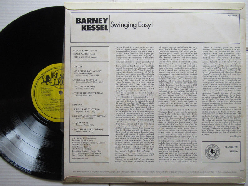 Barney Kessel | Swinging Easy (RSA VG+)