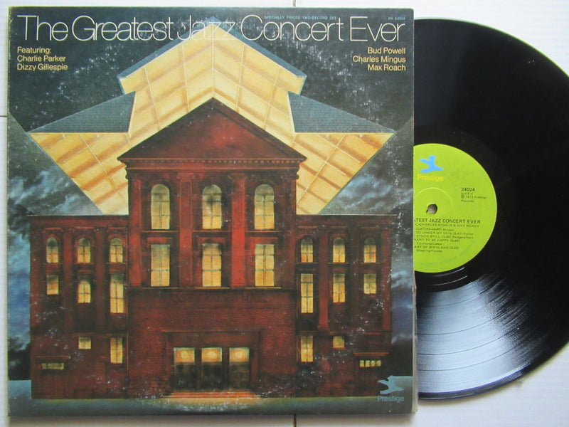 Various Artists | The Greatest Jazz Concert Ever (USA VG+)