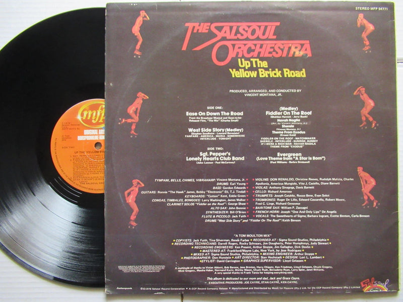 The Salsoul Orchestra | Up The Yellow Brick Road (RSA VG)