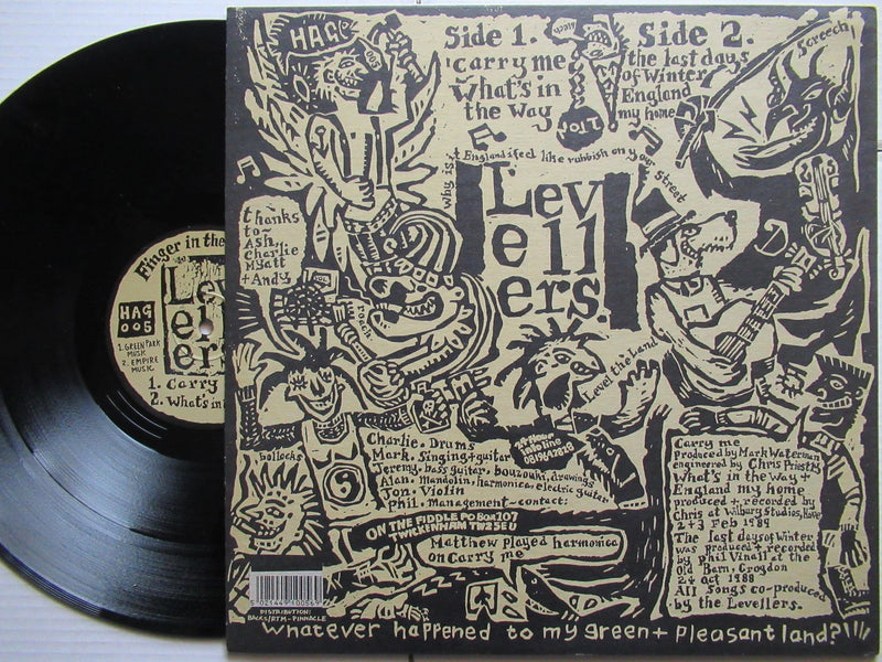 The Levellers | Carry Me (UK VG+)
