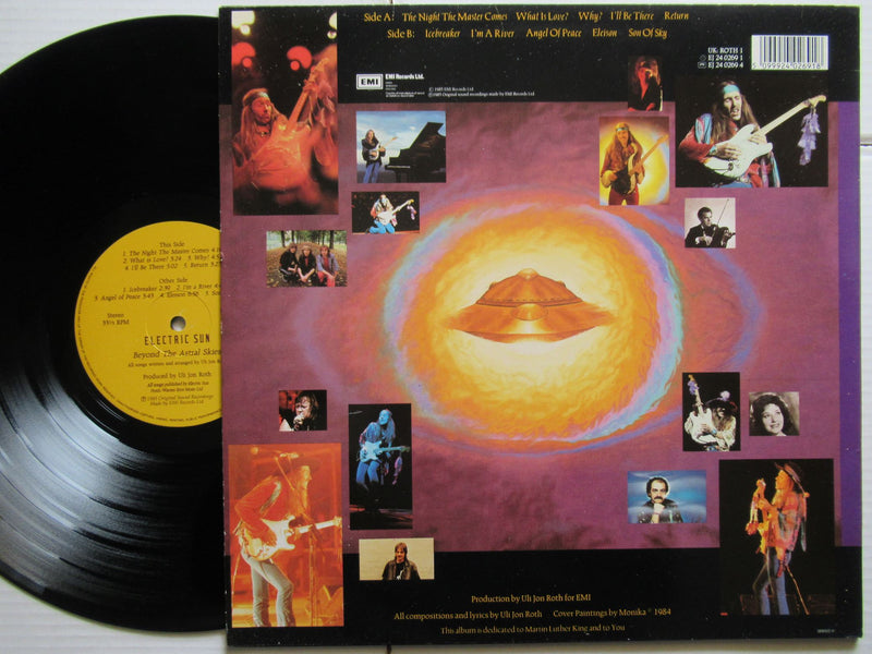 Uli Jon Roth & Electric Sun | Beyond The Astral Skies (UK VG+)