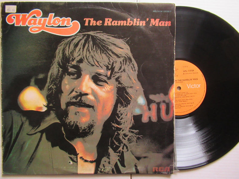 Waylon Jennings | The Ramblin' Man (RSA VG)