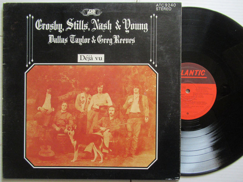 Crosby Stills Nash & Young | Déjá Vu (RSA VG-)