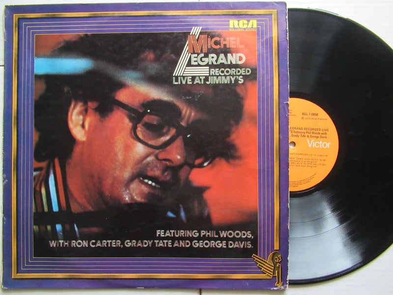 Michel Legrand | Recorded Live At Jimmy's (RSA VG)