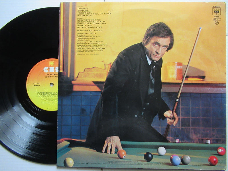 Johnny cash | The Baron (UK VG+)