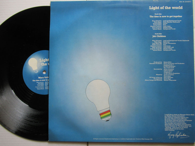 Mary Sylvester | Light Of The World (Germany VG+) 12""