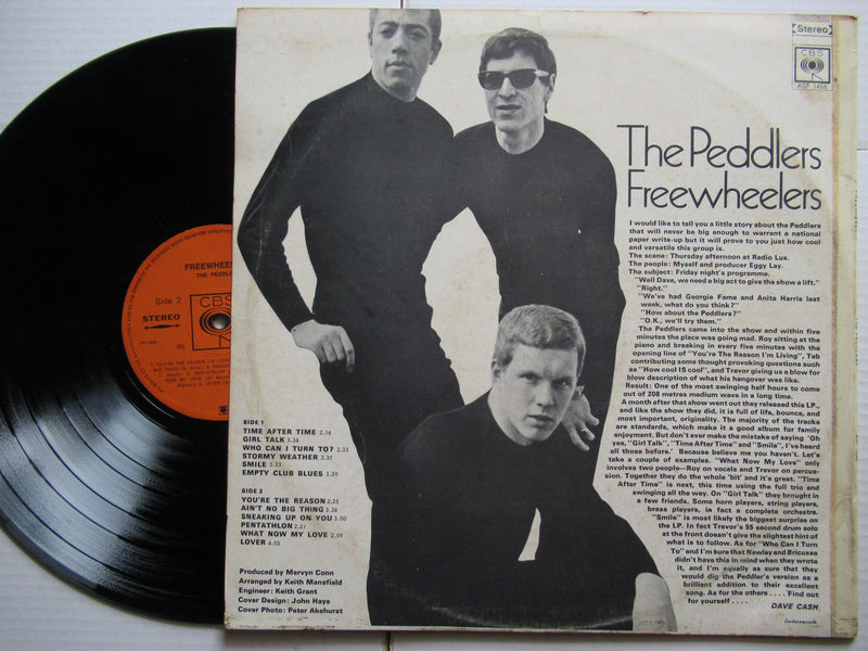 The Peddlers | Freewheelers (RSA VG+)