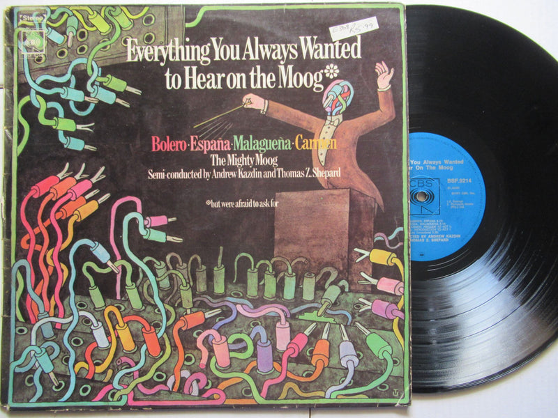 The Mighty Moog | Everything You Always Wanted To Hear On The Moog (RSA VG-)