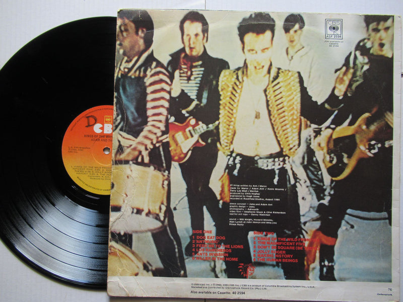 Adam And The Ants |  Kings Of The Wild Frontier (RSA VG)