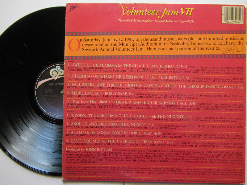 Charlie Daniels Band | Volunteer Jam VII (USA VG)