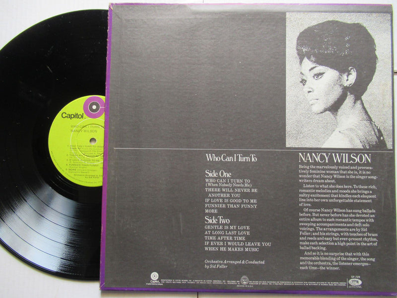 Nancy Wilson | Who Can I Turn To (USA VG)