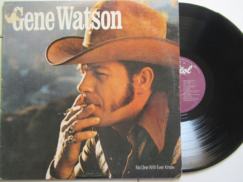 Gene Watson | No One Will Ever Know (USA VG)