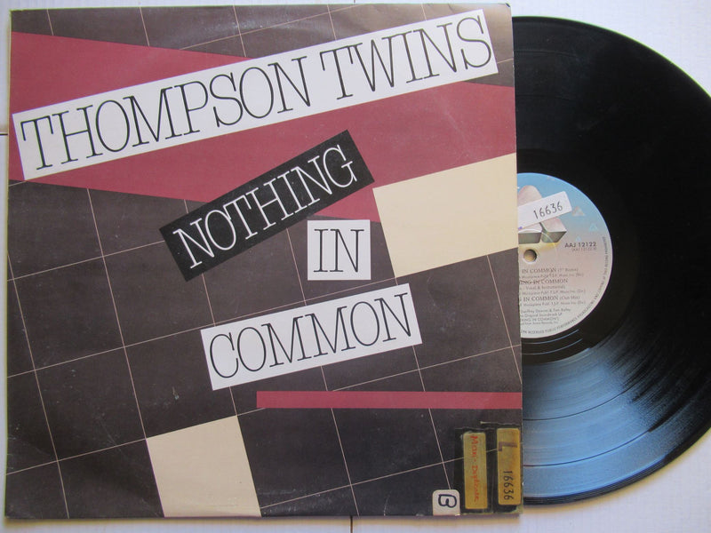 "Thompson Twins | Nothing In Common (RSA VG+ 12"" Maxi)"