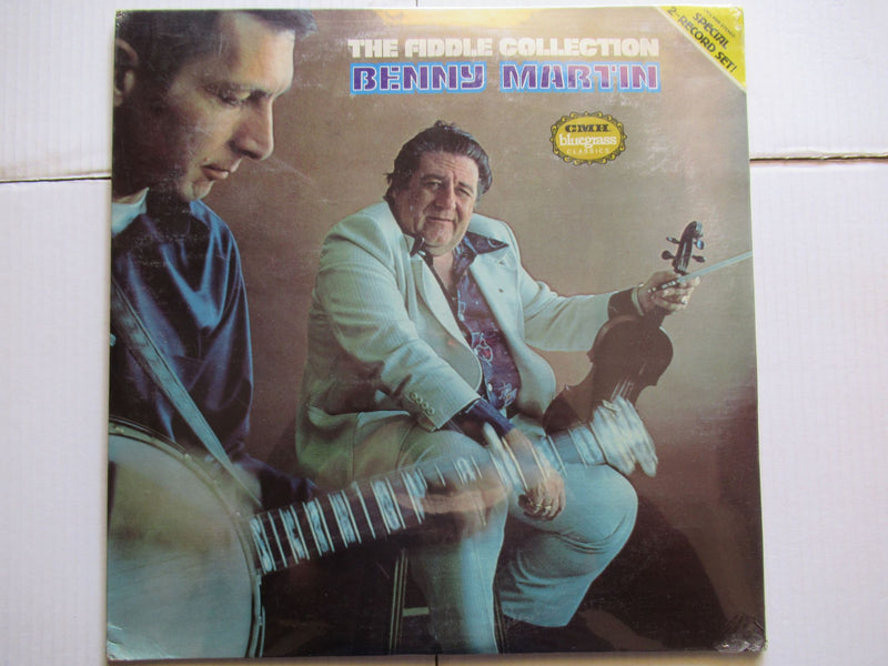 Benny Martin | The Fiddle Collection (USA Sealed 2LP)