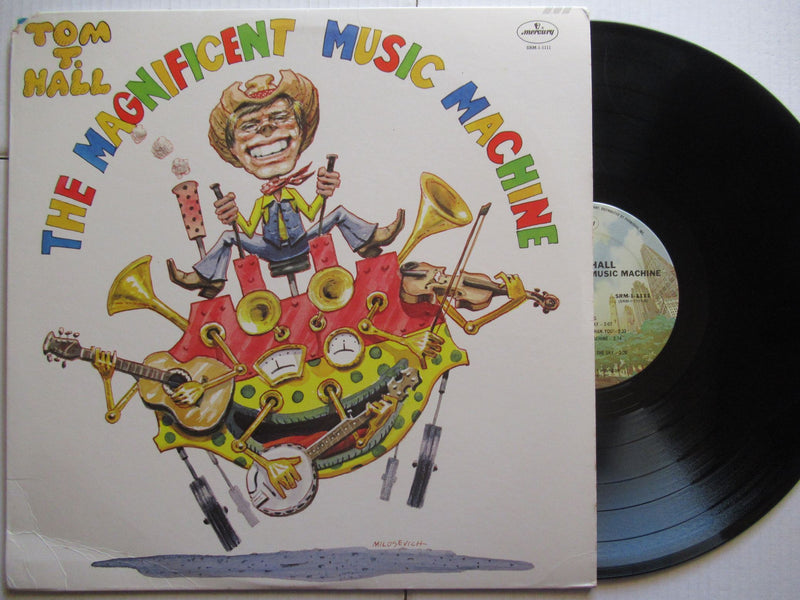 Tom T Hall | The Magnificent Music Machine (USA VG+)