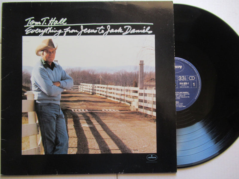 Tom T. Hall | Everything From Jesus To Jack Daniels (Netherlands VG+)
