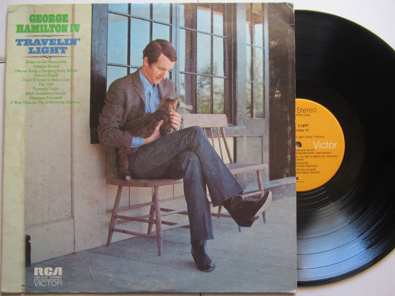 George Hamilton IV | Travelin' Light (USA VG+)
