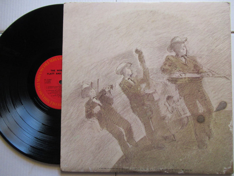Flatt And Scruggs | The World Of Flatt And Scruggs (USA VG 2LP)
