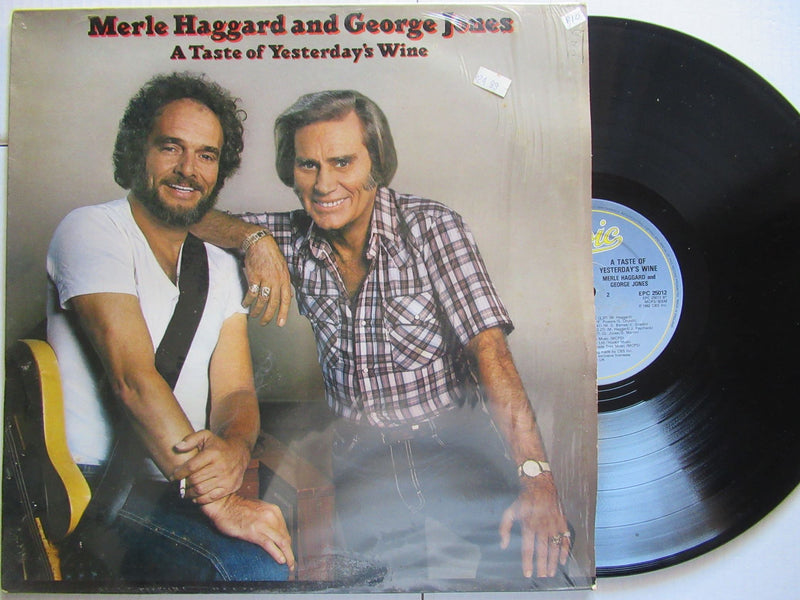 Merle Haggard And George Jones | A Taste Of Yesterday's Wine (UK VG+)