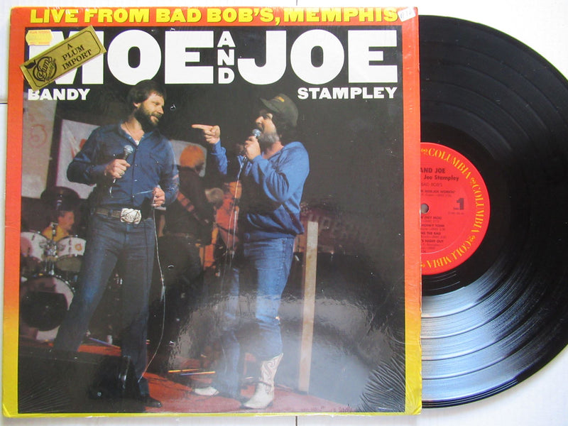 Moe Bandy And Joe Stampley | Live From Bad Bob's, Memphis (USA VG+)
