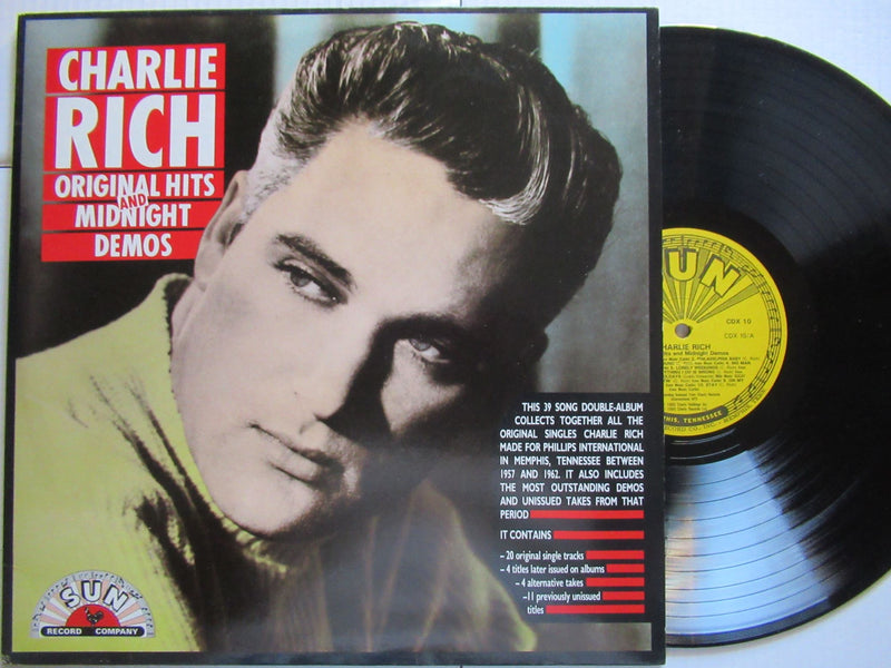 Charlie Rich | Original Hits And Midnight Demos ( UK EX )