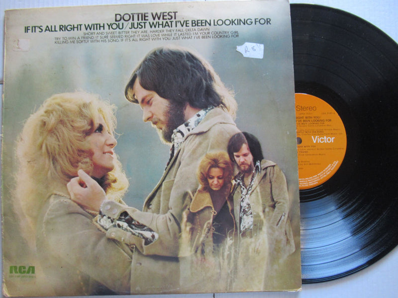 Dottie West | If It's All Right With You Just What I've Been Looking For ( UK VG+)