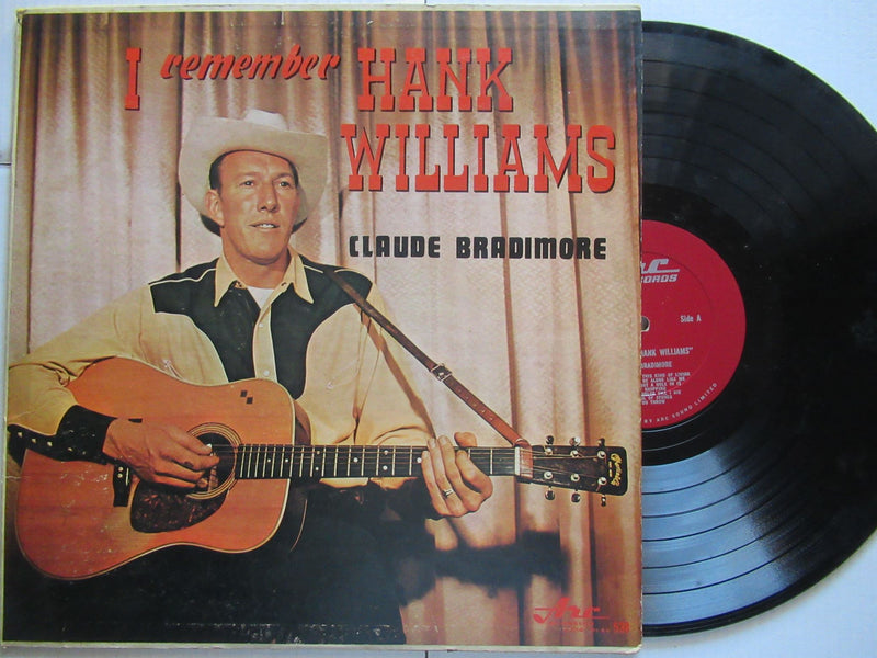 Claude Bradimore | I Remember Hank Williams (USA VG-)