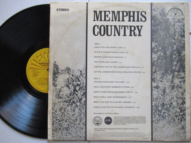 Various ( Sun )  | Memphis Country - ( RSA VG )