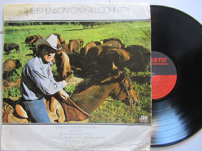 Henson Cargill | This Is Henson Cargill Country | RSA VG+