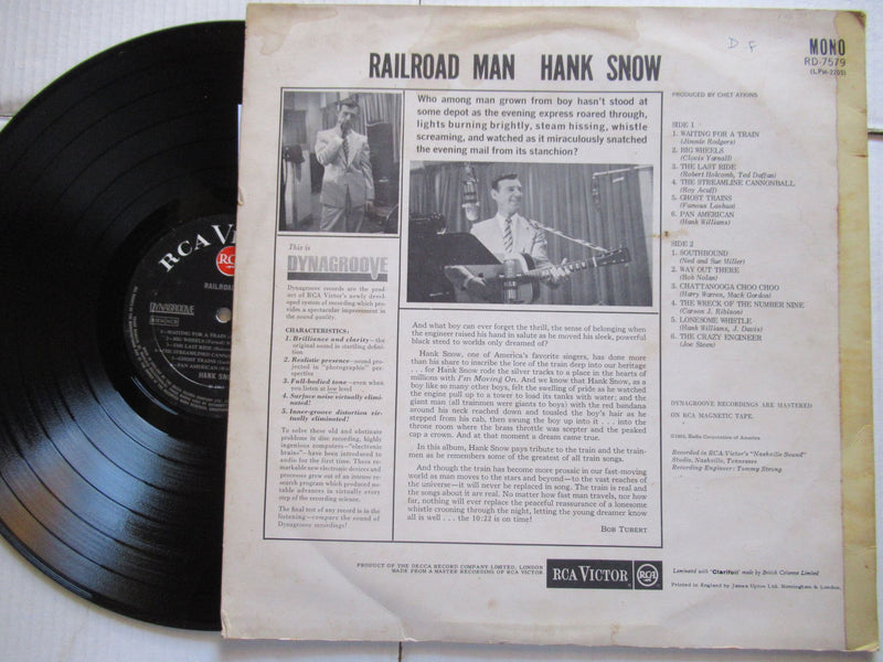 Hank Snow | Railroad Man ( UK VG+)