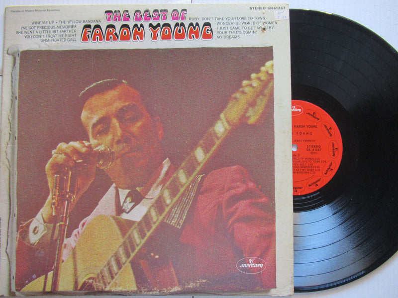 Faron Young | The Best Of Faron Young (USA VG-)