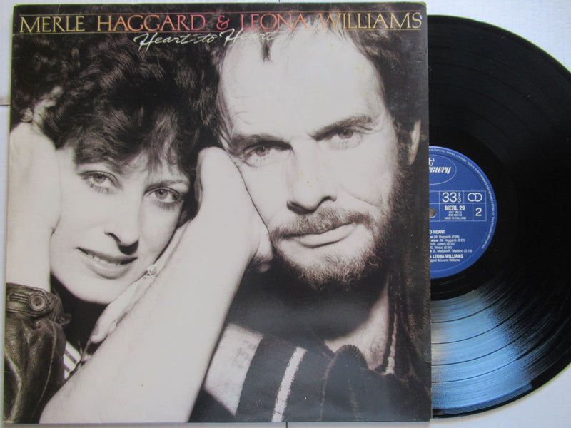 Merle Haggard & Leona Williams | Heart To Heart (Holland VG+)